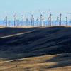 Early Sun on West Side of Foote Creek Wind Farm, 401005_029
