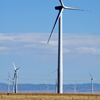 Dunlap Wind Farm Turbines, Battle Mtn. Near Med Bow, 401005_110