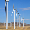 Dunlap Wind Farm Turbines, Battle Mtn. Near Med Bow, 401005_123