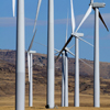 Dunlap Wind Farm Turbines, Battle Mtn. Near Med Bow, 401005_124
