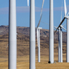 Dunlap Wind Farm Turbines, Battle Mtn. Near Med Bow, 401005_125