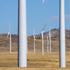 Dunlap Wind Farm Turbines, Battle Mtn. Near Med Bow, 401005_126
