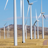 Dunlap Wind Farm Turbines, Battle Mtn. Near Med Bow, 401005_127