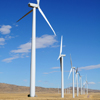 Dunlap Wind Farm Turbines, Battle Mtn. Near Med Bow, 401005_129
