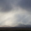 Sun Beams Shine Through Sheets Of Rain, Wind Farm, 401005_300