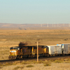 Union Pacific Train and the McFaddon Ridge Wind Farm, 401021_067