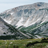 Sugarloaf with Old Main and Medicine Bow Peaks, 400801_070