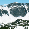 Old Main Peak, Mid-June, Snow, 01_5VPan