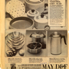 May D&F Newspaper Ad for Kitchen Pots & Pans