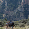 Students Above Cliffs & Talus Slopes of the Bighorn Canyon: 25