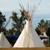 Single Tipi in Family Camp at 2006 Crow Fair: 1_068