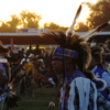 Men Dancers In Grand Entry at Crow Fair Pow Wow: 02_040
