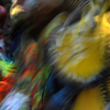 Several Dancers Blend Into Blur of Color & Movement: 02_075