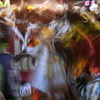 Several Dancers Blend Into Blur of Color & Movement: 02_079